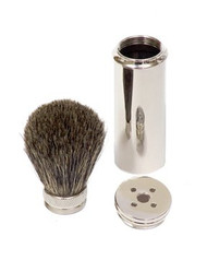 Pure Badger Travel Shaving Brush