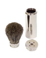 Pure Badger Travel Shaving Brush