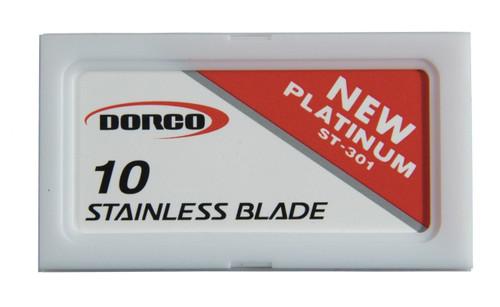 DORCO ST-301 Double Edge Razor Blades (Red)