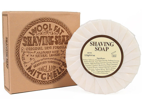 Mitchell´s Wool Fat Shaving Soap Refill