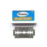Personna Platinum (Red Israeli) Double Edge Razor Blades
