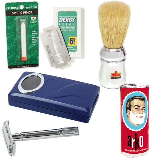 Wet Shaving Starter Set - Economy
