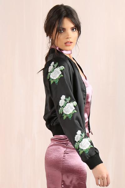Blossom Jacket - Black