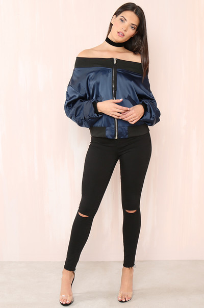 Such A Show-Off Jacket - Navy