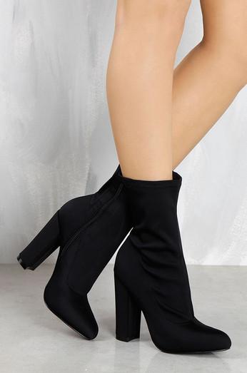 42f49364545 Locklyn Suede Knee High Boots Black