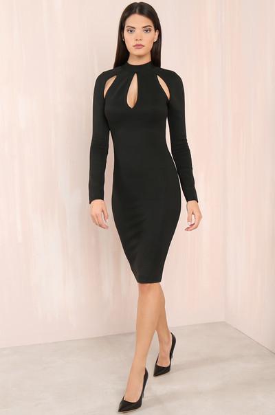 Killer Curves Dress - Black