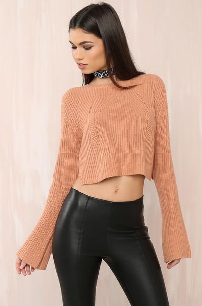 Season Hit Sweater - Dusty Blush
