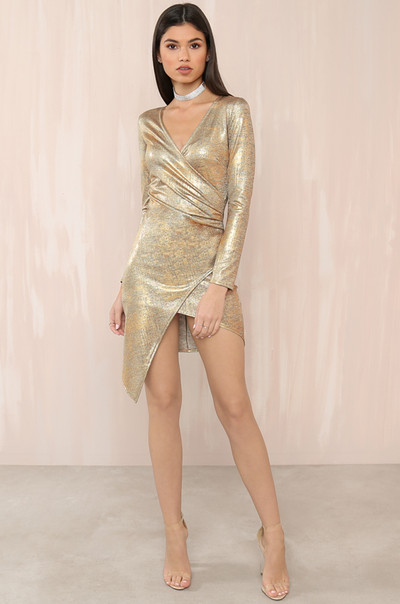 This Is My Night Dress - Gold