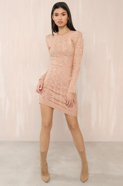 Come Closer Dress - Blush