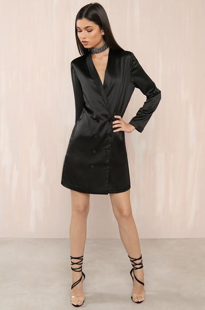 Profesh Dress - Black