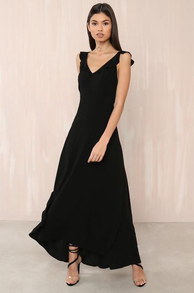 Sunset Stroll Dress - Black