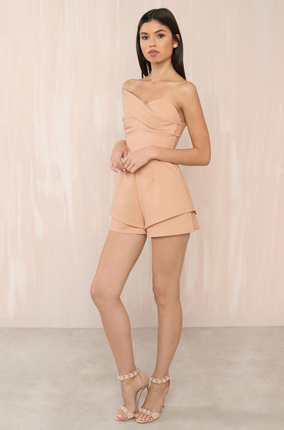 Miss New Romper- Blush