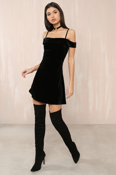 Life Of The Party Dress - Black