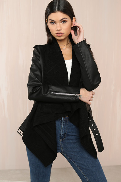 Luxe Touch Jacket - Black