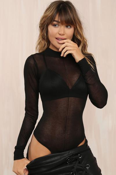 Confident Bodysuit - Black