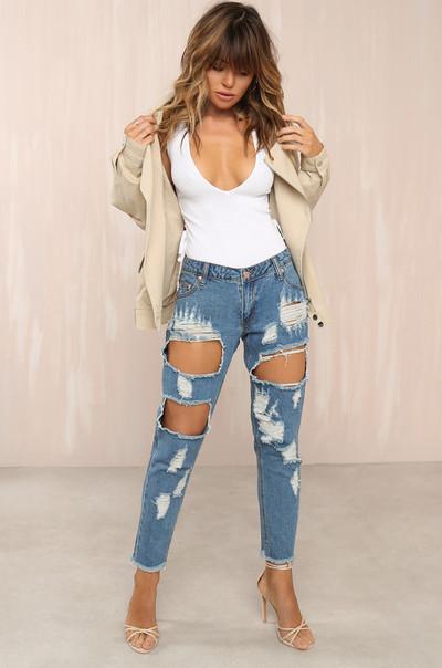 Nice Legs Jeans - Denim