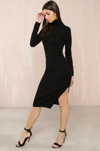 Knit Yours Dress - Black