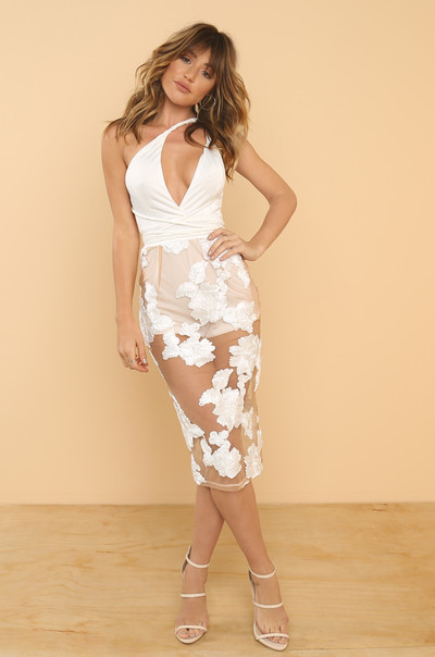 Seduced Dress - White