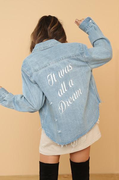 Just A Dream Jacket - Denim