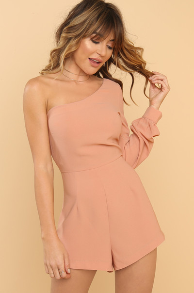 Every Angle Romper - Blush