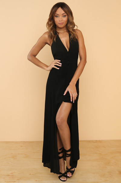 Great Lengths Dress - Black