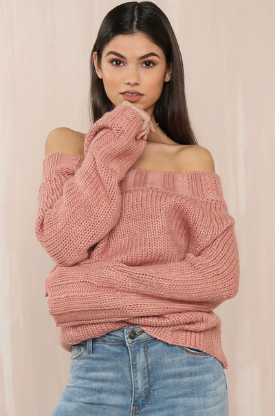 Hint Of Skin Knit - Rose
