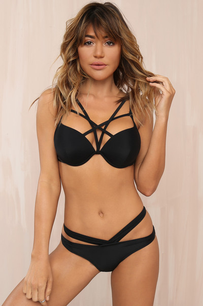 Beachin' Bikini Set - Black