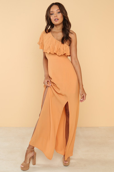 My Good Side Dress - Marigold