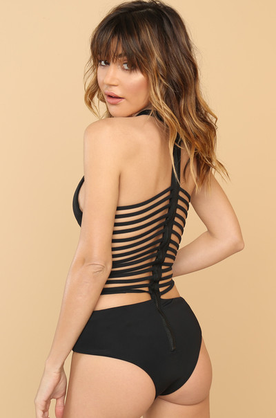 Back Again Swimsuit - Black