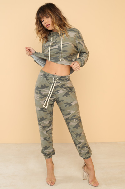 Duty Calls Co-ord Set - Camouflage