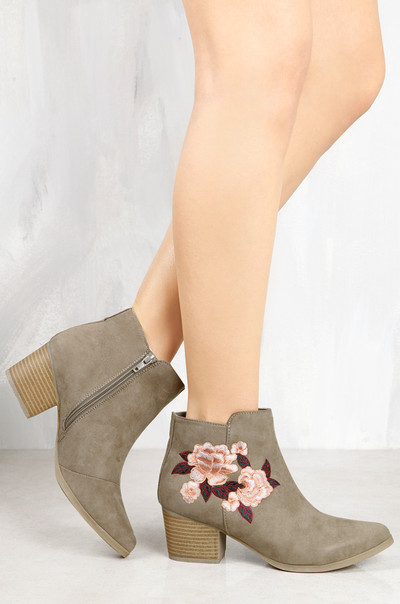 Bloom On - Taupe