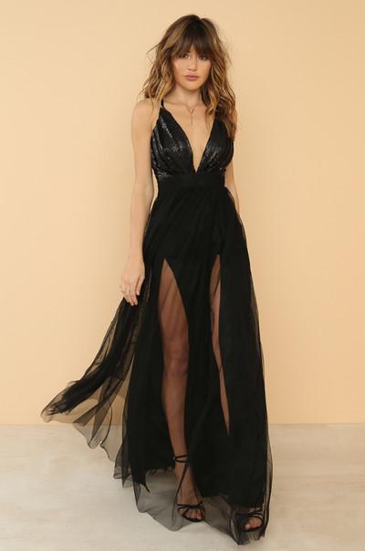 Night To Remember Dress - Black
