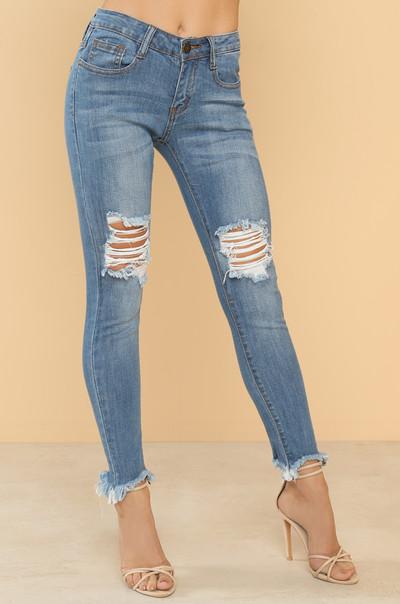 New Curves Jeans - Denim