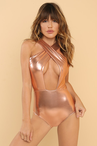Golden Hour Swimsuit - Rose Gold