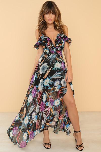 Maximum Impact Dress - Floral
