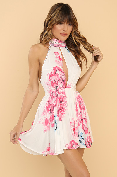 Bombshell Dress - White