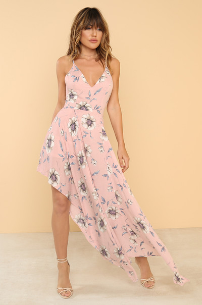 Flatter Me Dress - Floral