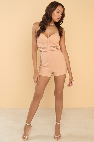 Always VIP Romper - Blush