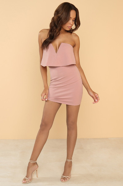 Down Low Dress - Mauve