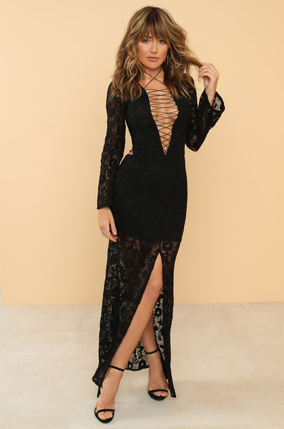 Have It All Dress - Black