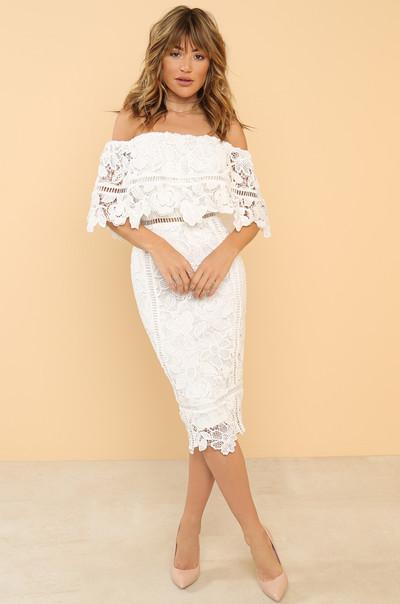 Captivating Dress - White