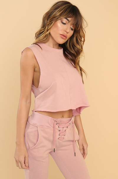Play Nice Top - Mauve