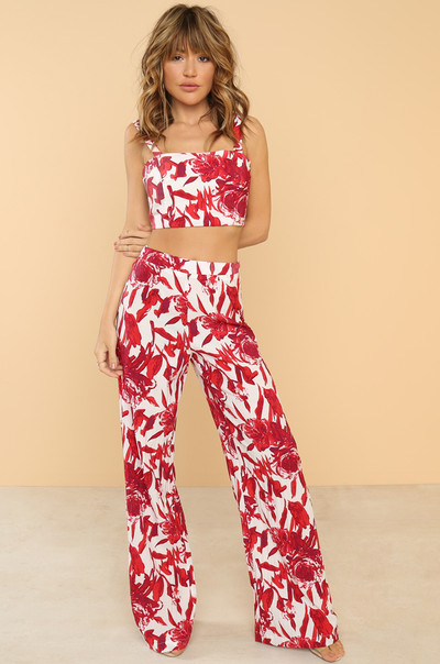 Fresh Prints Co-ord Set - Red