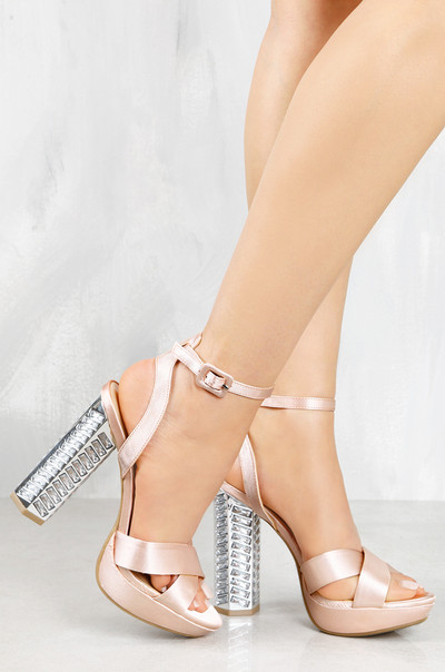 Your Spotlight - Blush Satin