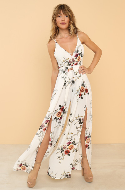 Fresh Heights Jumpsuit - Floral