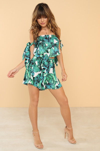 Tropi-Cool Co-ord Set - Green