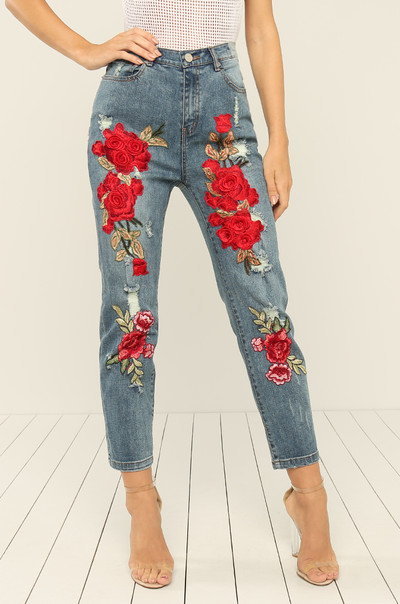Nice Stems Jeans - Denim
