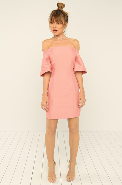 Breaking Hearts Dress - Rose