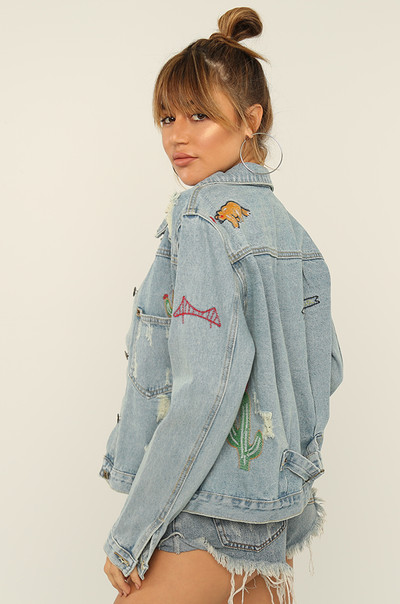 Hit The Road Jacket - Denim