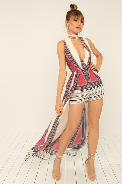 Eyes On Her Dress - Multi